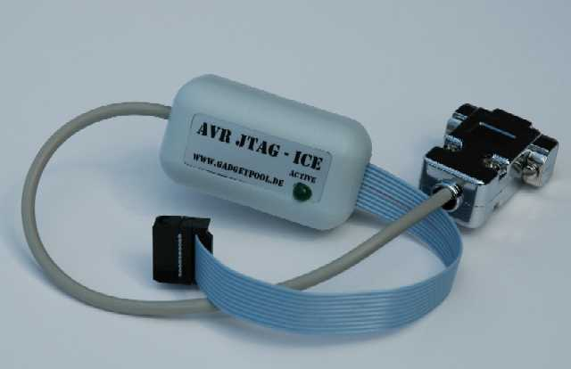 JTAG-ICE for AVR controllers (Serial Interface)