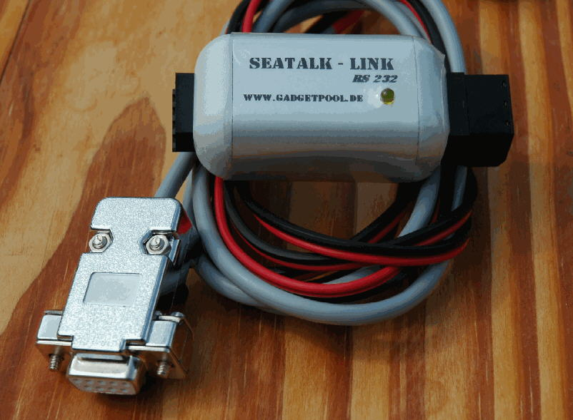 SeaTalk NMEA Link (RS232) with galvanic isolation